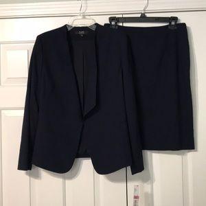 Alex Marie navy skirt suit